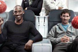 Lionel Messi ucapkan belasungkawa atas  meninggalnya Kobe Bryant