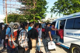 Malaysia deportasi 157 TKI melalui Tanjungpinang