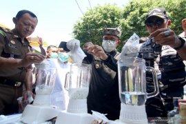 Pemusnahan tindak pidana umum kejari Banyuwangi