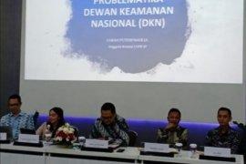 Komisi I DPR pertanyakan urgensi rencana pembentukan Dewan Keamanan Nasional