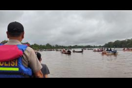 Seorang ibu hamil dan bocah tewas tenggelam di danau Kapuas Hulu