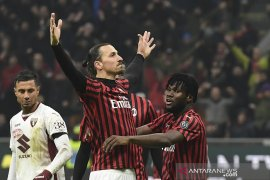 AC Milan taklukkan Torino maju semifinal Coppa Italia, tantang Juventus
