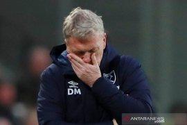 Moyes berharap senyum Dewi Fortuna saat West Ham tantang Liverpool