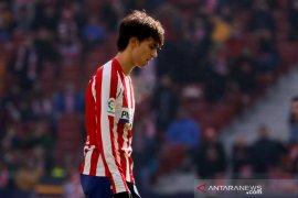 Jelang derbi Madrid, Atletico harus  kehilangan Joao Felix