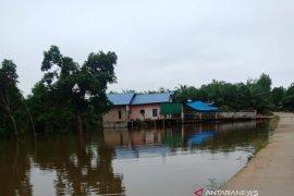 Debit air Sungai Batanghari meningkat, belasan desa terendam banjir luapan