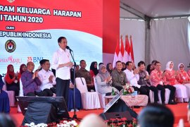 Presiden Jokowi ajak publik bijak gunakan dana Program Keluarga Harapan