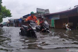 Hujan deras, Kota Medan terendam banjir