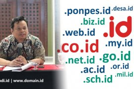 Pengguna nama domain .id naik drastis pada 2019
