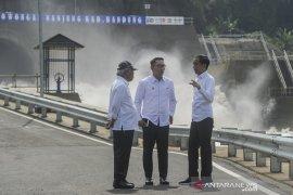 Peresmian terowongan air Nanjung