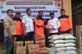 BPBK Abdya terima bantuan pangan dan sandang dari BPBA