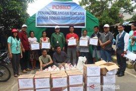 Pelindo Sibolga salurkan bantuan 40 sak beras untuk korban kebakaran
