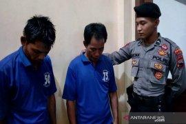Polisi bekuk dua pencuri barang konveksi