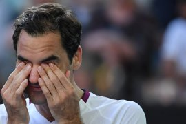 Karena memaki, Roger Federer didenda Rp40 juta