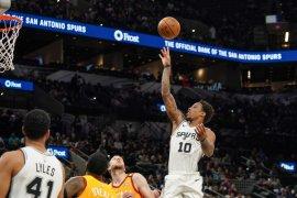 Basket, NBA  - DeRozan sumbang 38 angka saat Spurs tundukkan Jazz