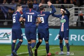 Piala Prancis, PSG lolos perempat final, Lille disingkirkan tim divisi empat