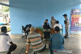 Jasa Raharja Babel buka layanan kesehatan gratis di Terminal Kampung Keramat