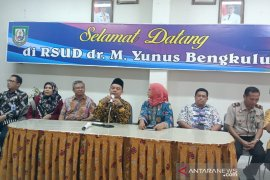 Seorang warga Bengkulu diduga terjangkit virus corona dirawat di RS M Yunus