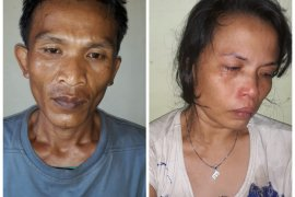 Pasangan suami istri warga Pantai Gemi ditangkap Polisi Stabat Langkat miliki sabu-sabu
