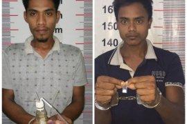 Polisi Langkat amankan dua  tersangka pemilik narkotika dalam Operasi Antik Toba