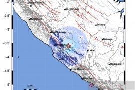 Gempa guncang Empat Lawang dirasakan hingga Kepahiang Bengkulu