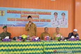 Pembangunan jalan lintas HST-HSU menjadi prioritas Musrenbang Kecamatan Pandawan