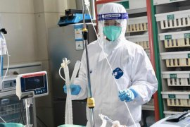 Korban meninggal virus corona di provinsi Hubei naik jadi 204 orang