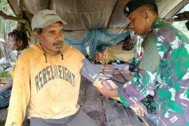 TNI AD laksanakan pengobatan gratis