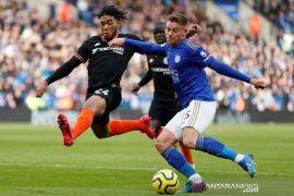 Chelsea bermain imbang kontra Leicester City
