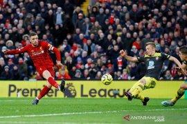Liga Inggris, Liverpool tundukkan Southampton 4-0