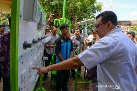 Gubernur NTB resmikan sekolah mandiri energi