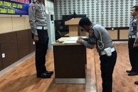 Anggota Polantas Tanah Bumbu tandatangani pakta integritas cegah korupsi
