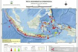 BMKG: Pergeseran zona aktif wajar karena Indonesia punya banyak sumber gempa