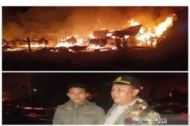 Ini nama 24 karyawan PT. MIR  yang rumahnya terbakar di Tapsel