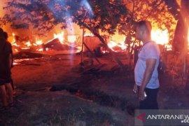 24 rumah karyawan PT MIR habis terbakar