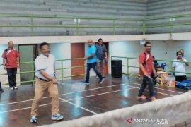13 pasangan ganda meriahkan turnamen bulutangkis Piala Wali Kota