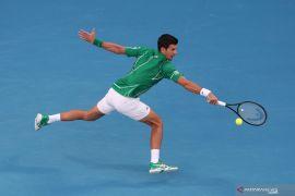 Australia Open, Novak Djokovic juara setelah kalahkan Dominic Thiem di final