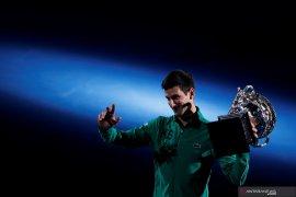 Novak Djokovic kembali raih peringkat satu dunia