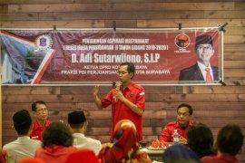 Ketua DPRD dicurhati kebutuhan SMAN/SMK Negeri di Gunung Anyar Surabaya
