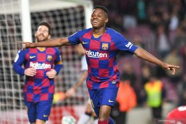 Pelatih Barcelona siap eksploitasi bakat Ansu Fati