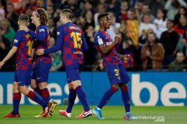 Dua gol Ansu Fati bawa Barcelona bekap Levante 2-1