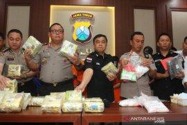 Polda Jatim tangkap dua warga Malaysia pengedar sabu-sabu 15 kg