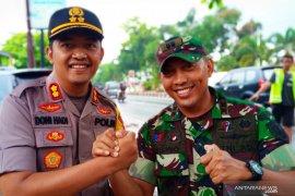 Polres Banjarbaru  amankan puncak HPN yang dihadiri Presiden
