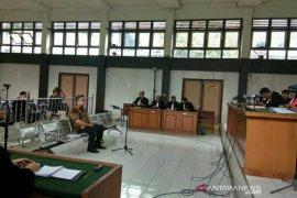 Terdakwa debitur Bank Sumsel Babel dituntut 12 tahun penjara