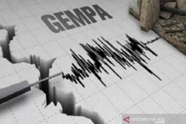 Getaran gempa 5,4 SR Maluku Utara terasa di lima daerah