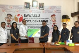 Bawaslu Denpasar lindungi Panwascam dengan BP Jamsostek