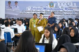 12.301 peserta ikuti ujian CPNS Pemprov Sumut