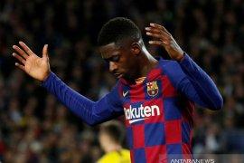 Barcelona kehilangan penyerang sayap Ousmane Dembele  enam bulan