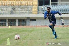 Zulham Zamrun kembali, langsung berlatih dengan Persib