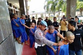 21 pengedar dan bandar narkoba Karawang ditangkap polisi