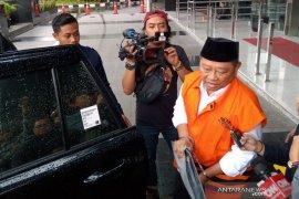 Bupati Sidoarjo nonaktif Saiful Ilah jalani proses rekam suara di KPK